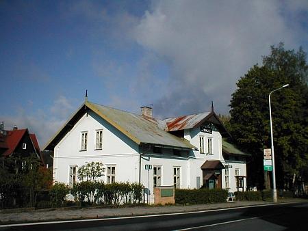 Vila Abeleů v Železné Rudě, dnes muzeum a informační středisko Národního parku Šumava