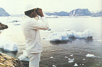 Záběr z jeho filmu Servus Bayern (1978). k němuž napsal scénář, režíroval ho a hrál i hlavní roli