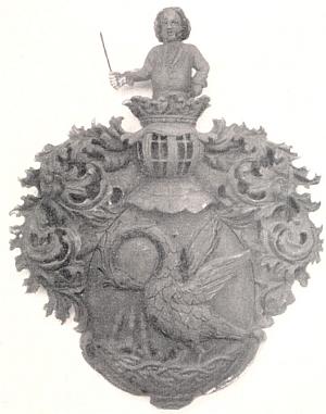 Erb sklářského rodu Adlerů