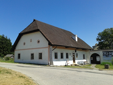 Rodný dům Adalberta Stiftera v Horní Plané