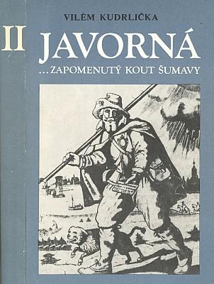 Obálky (1983 a 1987) dvou českých knih o Javorné, které vydala Tisková, ediční a propagační služba místního hospodářství v Praze