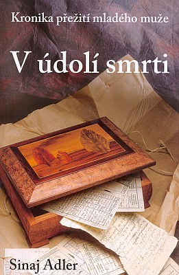 Obálka knihy jeho syna Sinaje Wolfganga Adlera (2004) vydané v nakladatelství AGAKCENT v Zavlekově