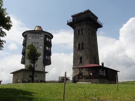 Rozhledna a bývalá radarová stanice na Čerchově