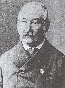 Jeho otec Franz Almesberger starší (1824-1906)