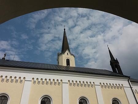 Kostel sv. Jakuba Většího ve Světlíku, o jehož obnovu se zasloužil