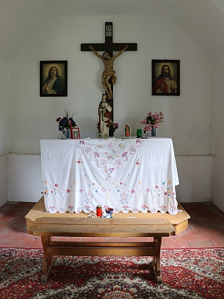 Kaple v Kubově Huti
