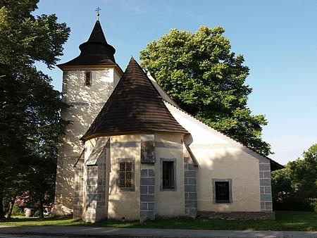 Kostel sv. Anny na Libínském Sedle