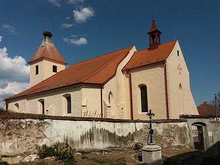 Strýčický kostel sv. apoštolů Petra a Pavla