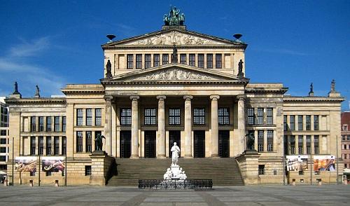 Berlínský Konzerthaus na náměstí Gendarmenmarkt