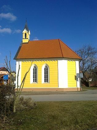 """Návesní kaple ve """"Voselnu"""""""