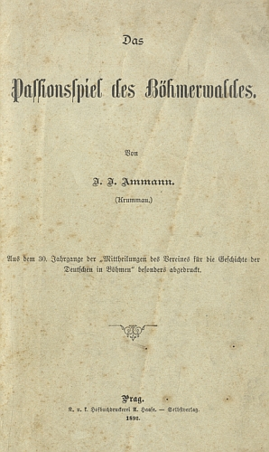 Obálka jeho práce (1892)