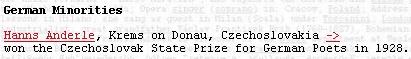 """Takto uvádí jeho jméno i s letopočtem ocenění v roce 1928 publikace Arnolda Dreyblatta """"Who"""