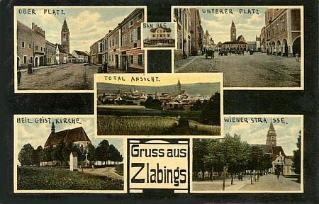 Ještě jedna stará pohlednice ze Slavonic