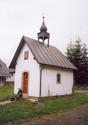 Kaple ve Velkém Kozím Hřbetě