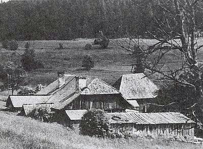 I Puchingerův dvůr (Buchingerhof) byl kdysi sklárnou