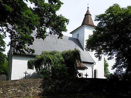 Kostel sv. Mořice v Mouřenci