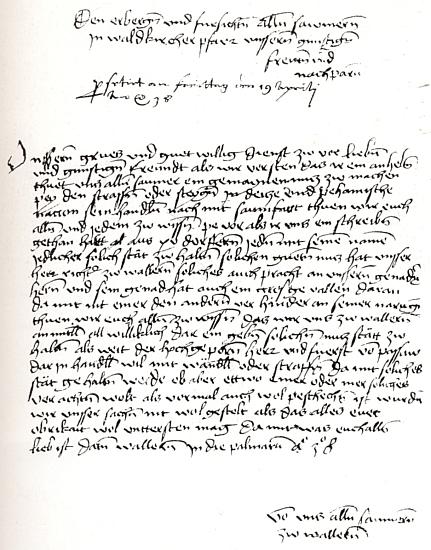 Soumarský list v originále