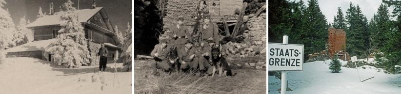 """Štěstí neměla ani další chata na Svarohu, otevřená na Vánoce roku 1945 na """"českém"""" svahu hory"""