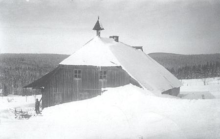 Jedna ze sedmi gsengetských chalup zvaná Schulhauserhof