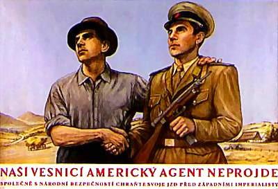 I tento československý plakát z padesátých let patří k dějinám Šumavy