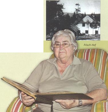 Traudl Gerardová, dcera posledního majitele Frischhofu Rudolfa Frische