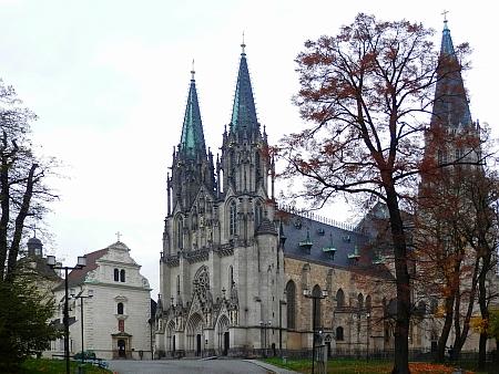 Katedrála sv. Václava v rodné Olomouci
