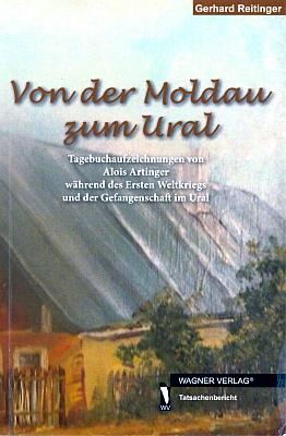 Obálka (2012) knihy s jeho deníkovými záznamy, vydané nakladatelstvím Wagner Verlag v Gelnhausen azpracované Gerhardem Reitingerem