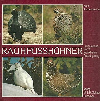 Obálka (1985 v nakladatelství  M. & H. Schaper)     jeho knihy o tetřevech