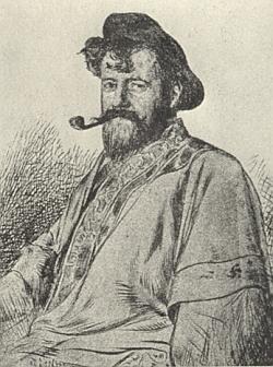 Na kresbě Ferryho Beratona z roku 1894