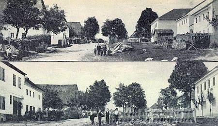 Chlum na starých pohlednicích