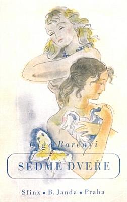 Obálka (1943, Sfinx - B. Janda) Vladimíra Hrsky kjejímu románu Sedmé dveře