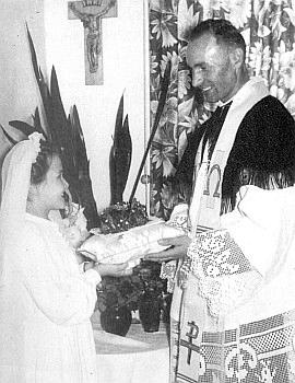 Kněžská primice roku 1952 v Ellwangen, kde také zemřel a je pochován
