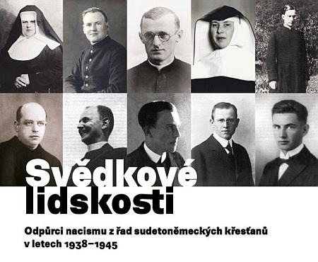 Plakát výstavy Svědkové lidskosti