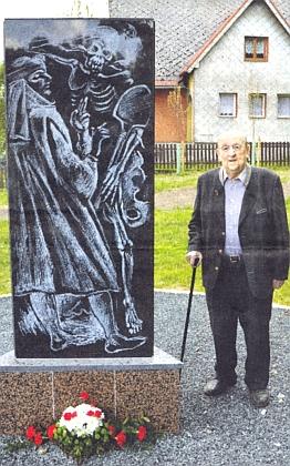 U nového památníku Johannese von Tepl v Šitboři
