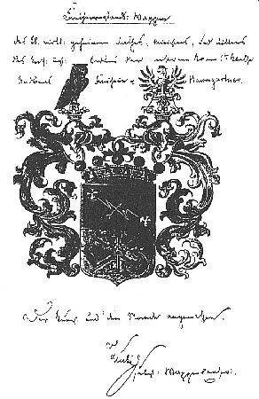 Diplom k udělení baronského titulu