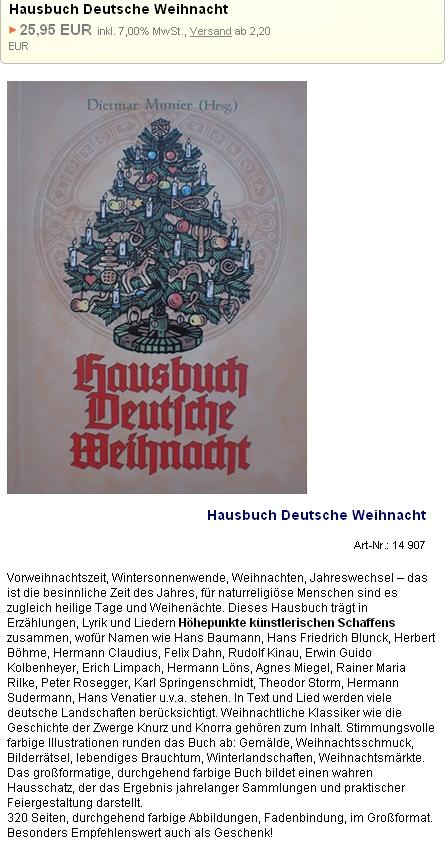 """Na inzerátu """"domácí knihy německých Vánoc"""" figuruje jeho jméno mezi autory antologie jako prvé"""