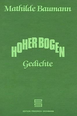 Obálka knihy jejích básní (1993) vydané nakladatelstvím Grohmann v Markt Schwaben