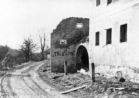 Zanikající Otov na snímku z poloviny padesátých let 20. století