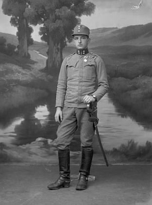 Otec jako voják v době první světové války