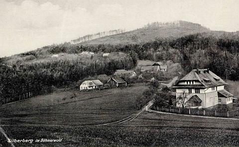 Orlovice na staré pohlednici