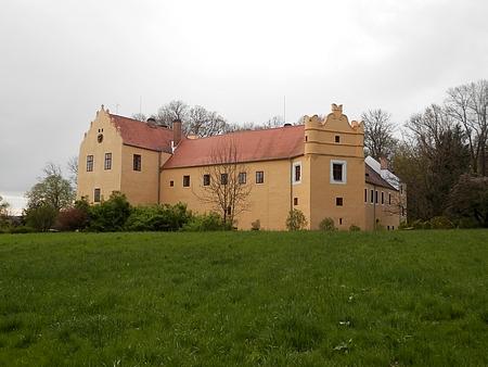 Starý a nový zámek v Libějovicích patřil Buquoyům