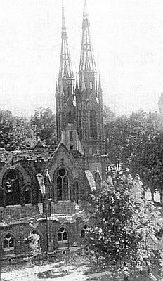Destrukce českobudějovické synagogy 5. července 1942