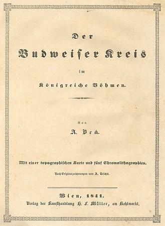 Titulní list (1841) jeho práce