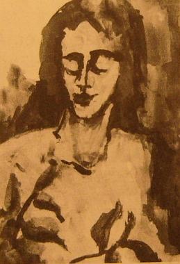 Jeden z jejích obrazů