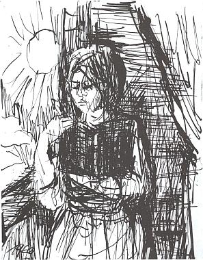 Perokresba z knihy