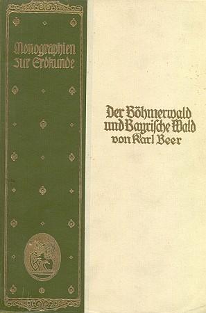 Obálka a titulní list (1925) knihy vydané v nakladatelství Velhagen & Klasing