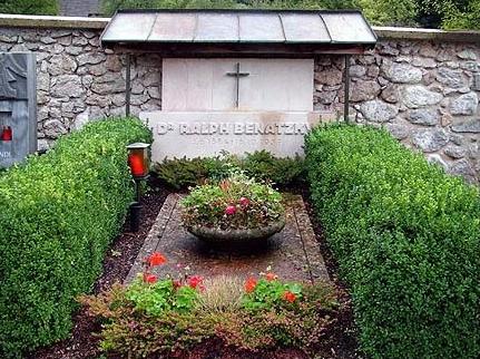 ... a jeho hrob v Sankt Wolfgang am See