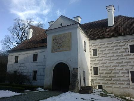 Malý konvent kláštera ve Zlaté Koruně