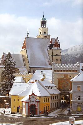 Její Prachatice s kostelem sv. Jakuba
