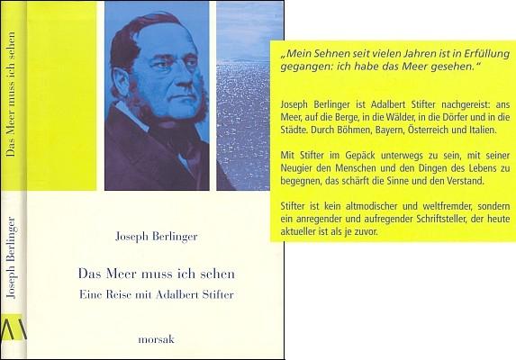 Obálka (2005) s nakladatelským textem ze zadní strany (nakladatelství Morsak, Grafenau)
